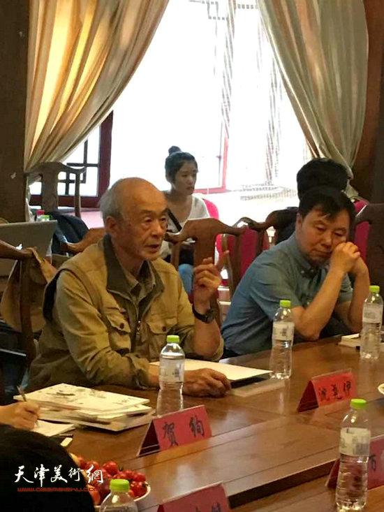 沈尧伊主任在会上对连环画艺术今后发展及创作做出指导方针的阐述