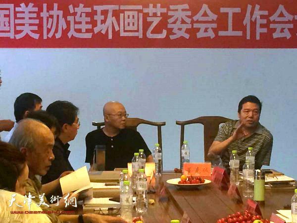 杨志刚、董克诚教授出席