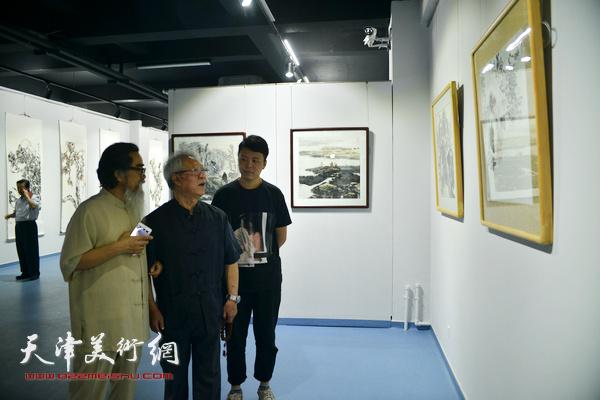 姚占元、宗桂民花鸟作品展在天津美术网艺术馆开展
