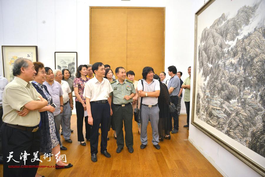 天津市庆祝中国共产党成立95周年美术作品展