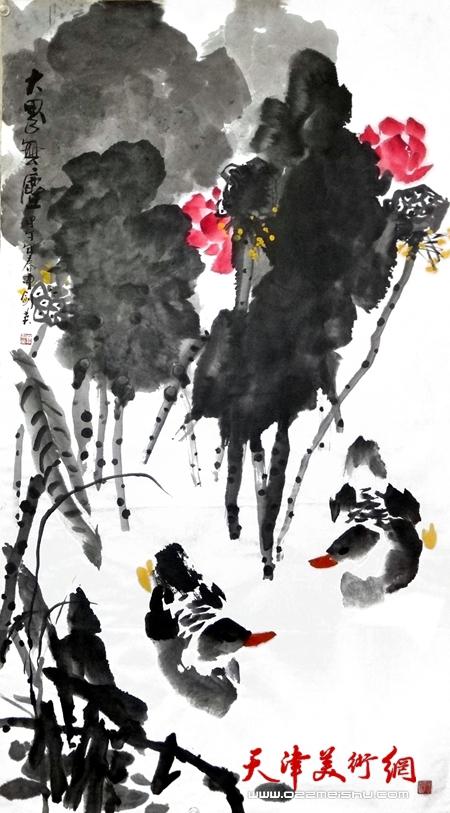 曹剑英作品《大界无尘》