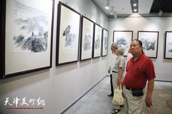 孟昭晏诗书画展