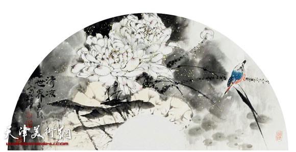 王惠民作品《清凉世界》