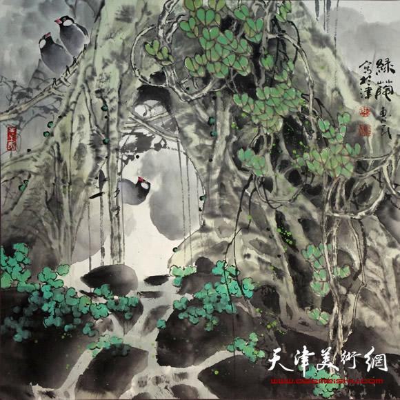 王惠民作品《绿荫》
