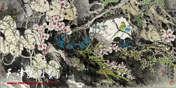 王惠民作品《晴风暖翠》