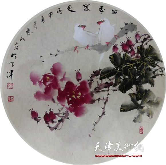 王惠民作品《四季春色》