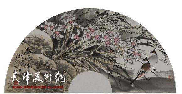 王惠民作品《香风清远》