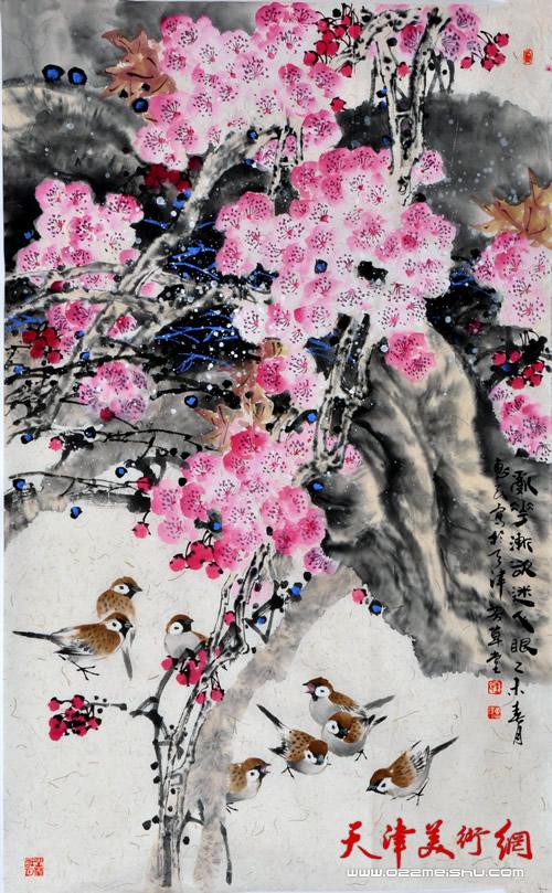 王惠民作品《乱花渐欲迷人眼》