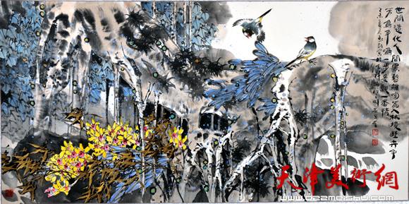 王惠民作品《南国奇葩》