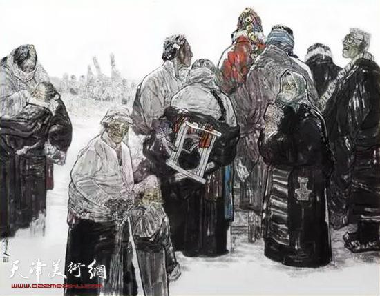 姚海峰作品:正月有藏戏