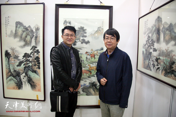 松风新韵-溥氏家族及传人画展