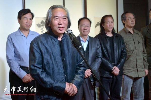 天津美术学院教授霍春阳先生致辞