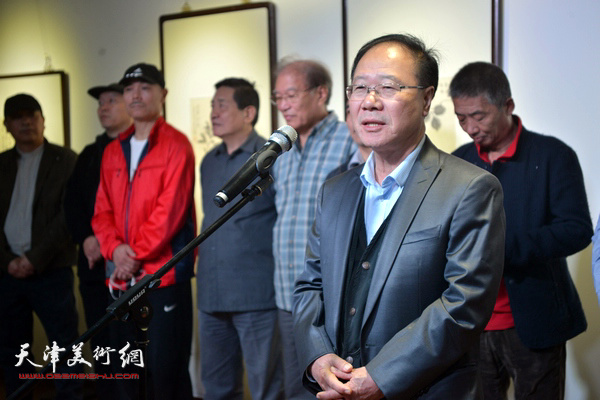 天津美术学院教授庞黎明致辞