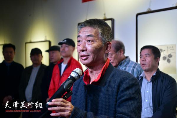 天津美术学院院长邓国源致辞