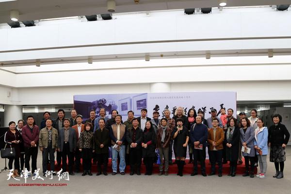 """""""李建平版画作品展""""于10月24日在天津泰达图书馆文化展厅隆重开幕"""