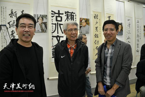 左起:孙敬忠、杨德树、杨宏宇。