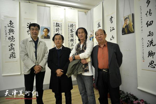 左起:姜维群、王全聚、道缘、韩祖音。