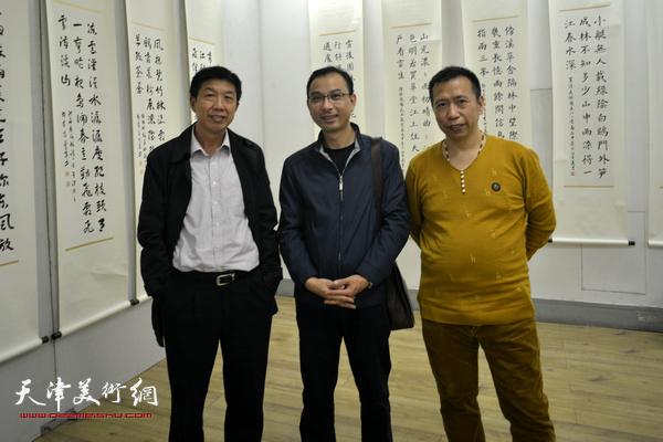 左起:王根发、徐庆春、王巍。