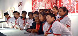 """中国·天津2014""""西岸""""剪纸艺术展开幕"""