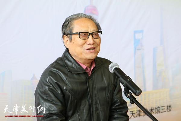 上海市文联副主席、上海市书协主席周志高致辞