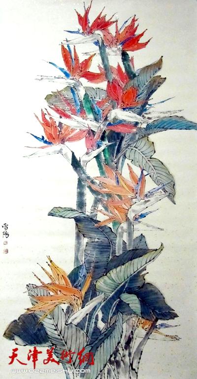 (作为国礼赠送英国首相切丽布莱尔夫妇)天堂鸟2011