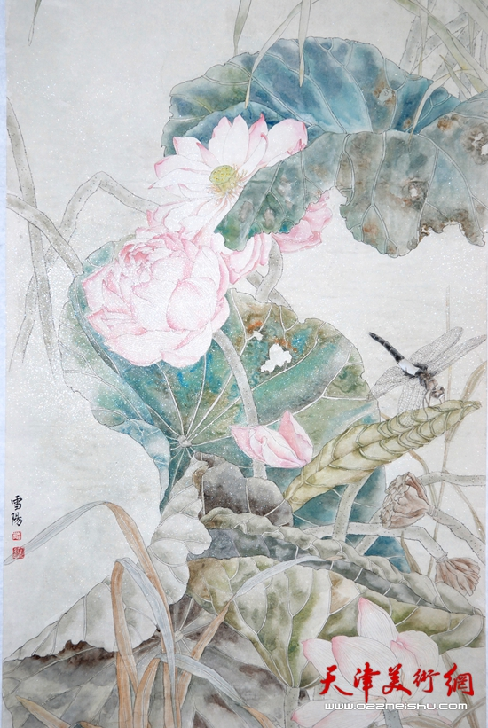 庄雪阳作品《何处池塘风淡淡》