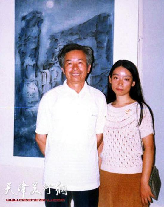 庄雪阳和父亲庄征