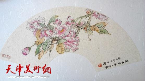庄雪阳作品《花逐东风占早春》