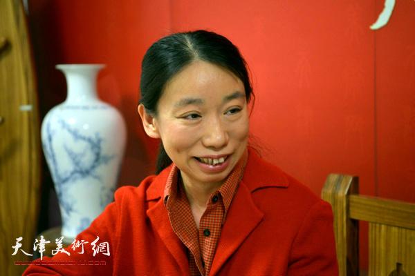 庄雪阳在天津美术网