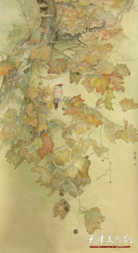 庄雪阳作品《秋声赋》
