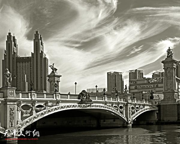 孙德琪作品:《天津历史风貌建筑之意式风情区》