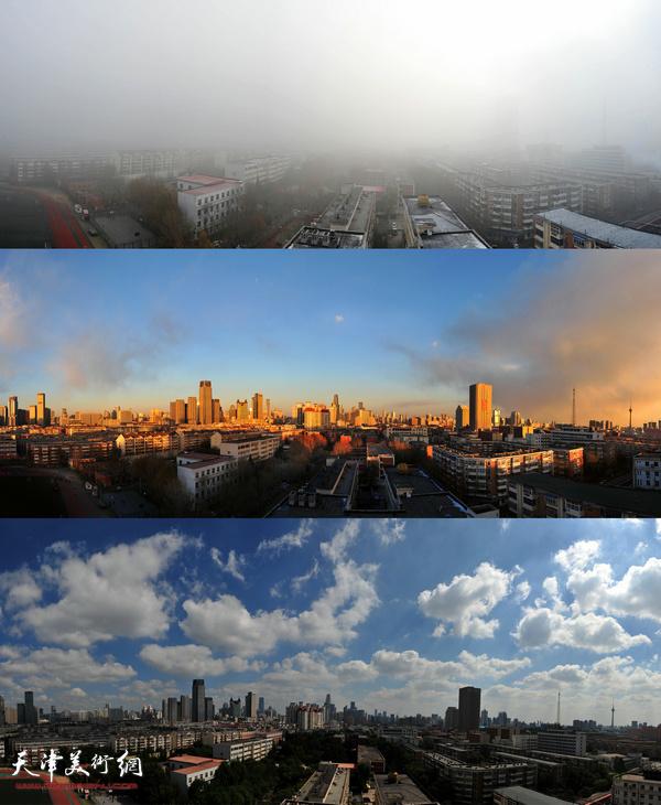 祁建松作品:雾霾与无霾