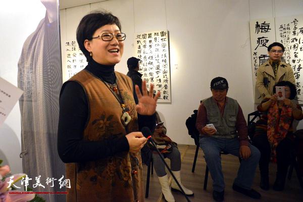 天津广播电视台著名主持人滕桓致辞