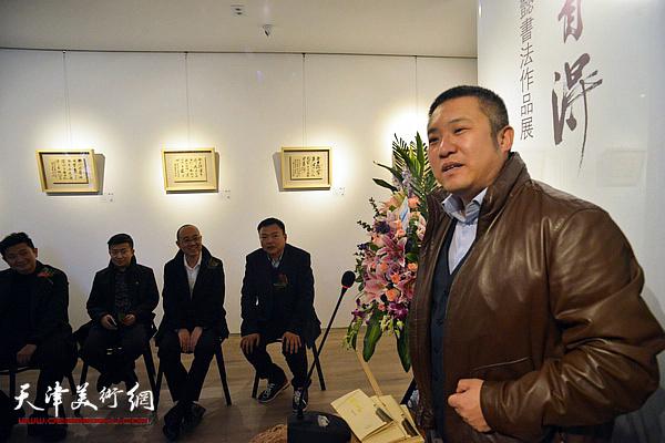中国卫生集团副总裁赵恺致辞