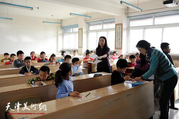 2016中国书画等级考试在津开考