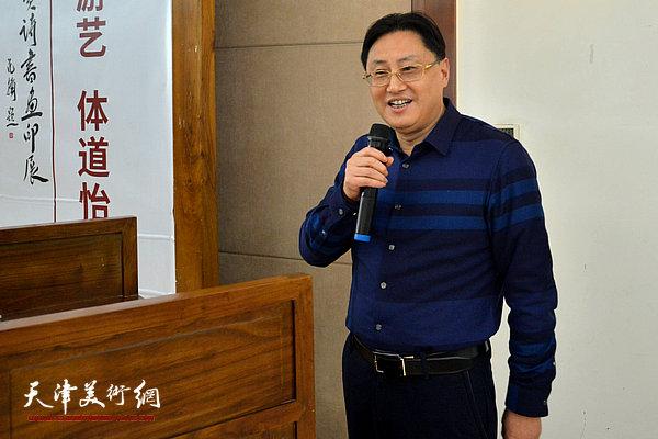 赛德集团董事长戴顺民致辞。