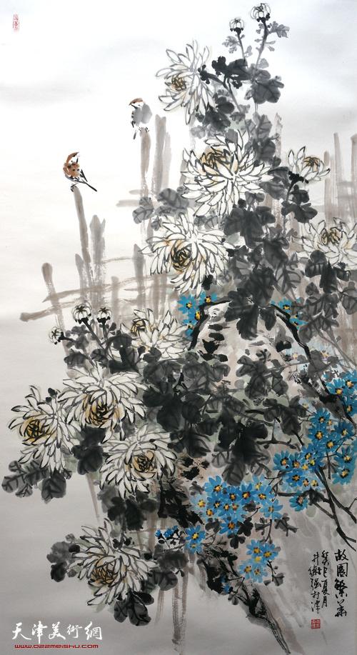 井卫强作品:《故园繁华》