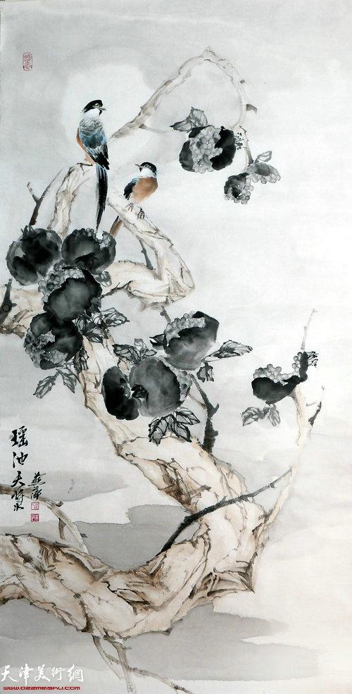 崔燕萍作品:瑶池天浆