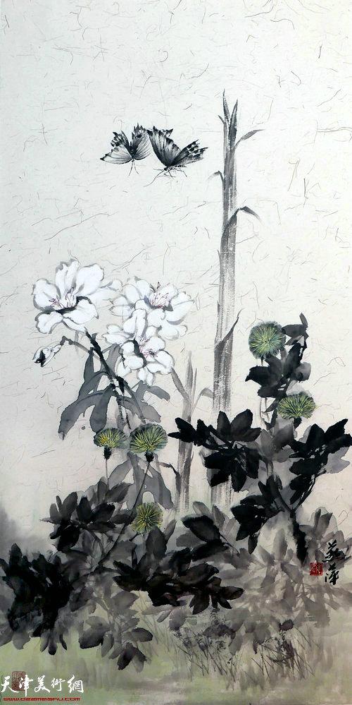 崔燕萍作品:春韵