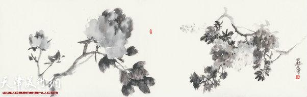 崔燕萍作品:四季花卉 春
