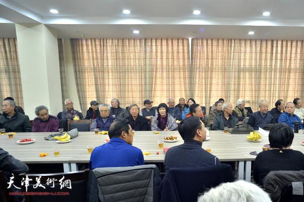 《中国近现代名家画集·纪振民》首发式暨学术研讨会现场。
