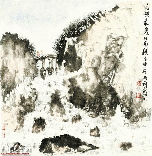 陈丙利作品:画中游系列之三