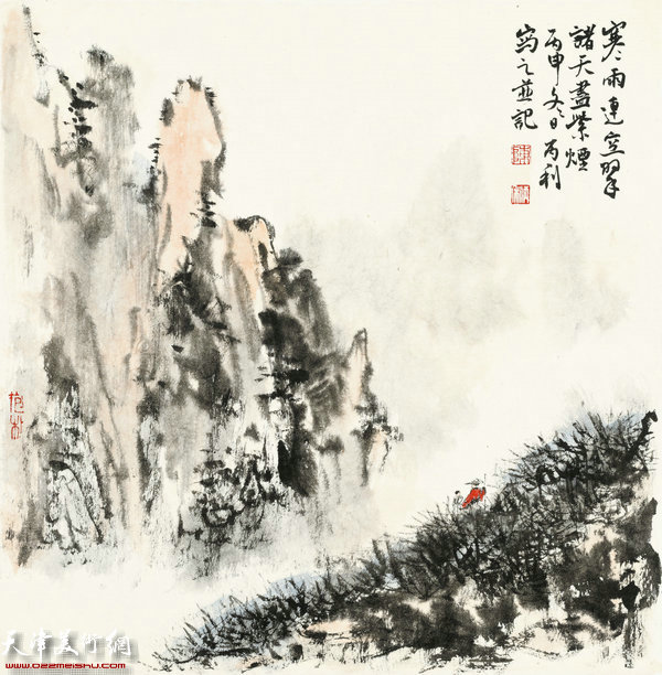 陈丙利作品:画中游系列之五