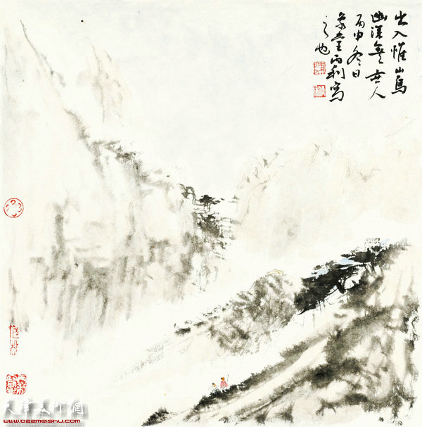 陈丙利作品:画中游系列之九