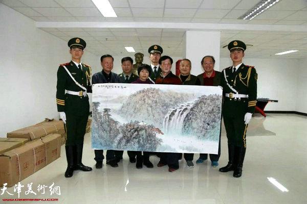郭志斌、王士生、王大成、聂瑞辰、姜钧杰一行五人