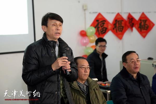 """翰墨迎新年 """"三实学堂""""书画家送文化进校园"""