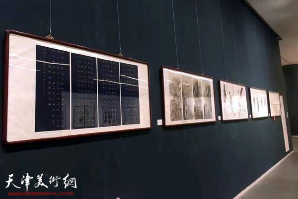 津门画语—书画名家四条屏展