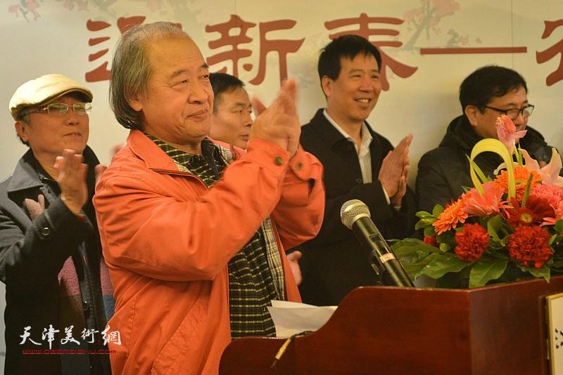 王书平在开幕仪式上。