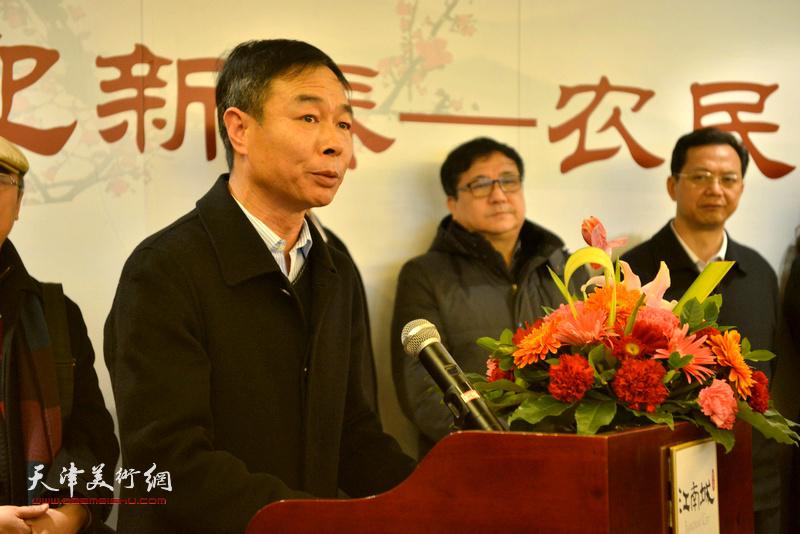 北辰区双街村党委书记刘春海致辞
