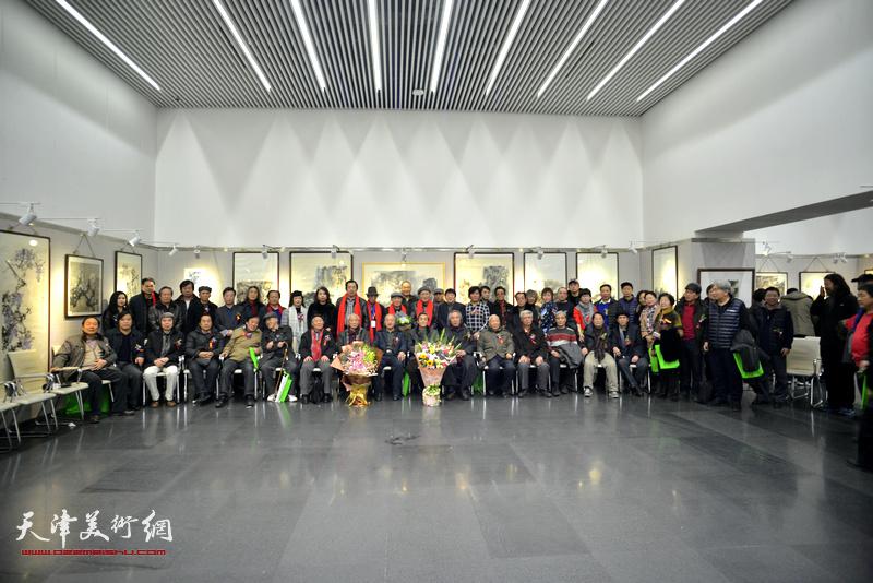 """""""津门孙氏四人画展""""1月8日上午在天津图书馆开幕"""
